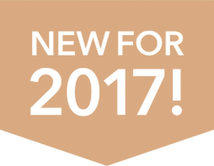 2017 New Items!